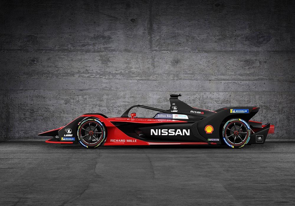 """""""نيسان"""" تستوحي تصميم سيارة الـ""""فورمولا إي"""" من زيّ الكيمونو الياباني"""