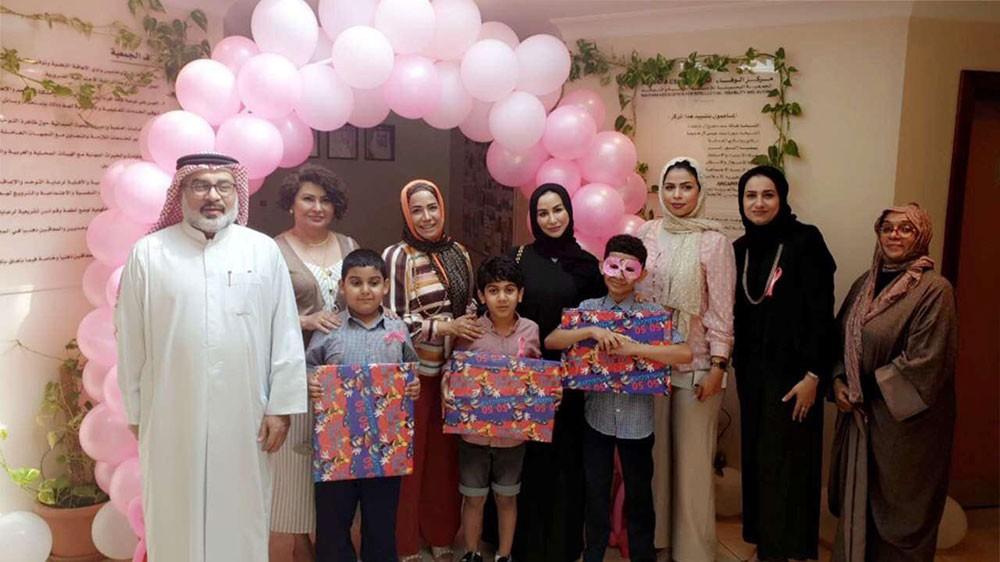 فريق اهل الخير في زيارة لمركز الوفاء