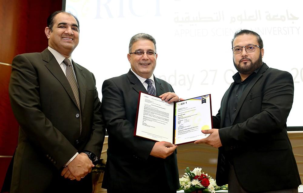 """""""العلوم التطبيقية"""" تحتفل بالحصول على شهادة الآيزو الدولية (ISO 21001 :2018)"""