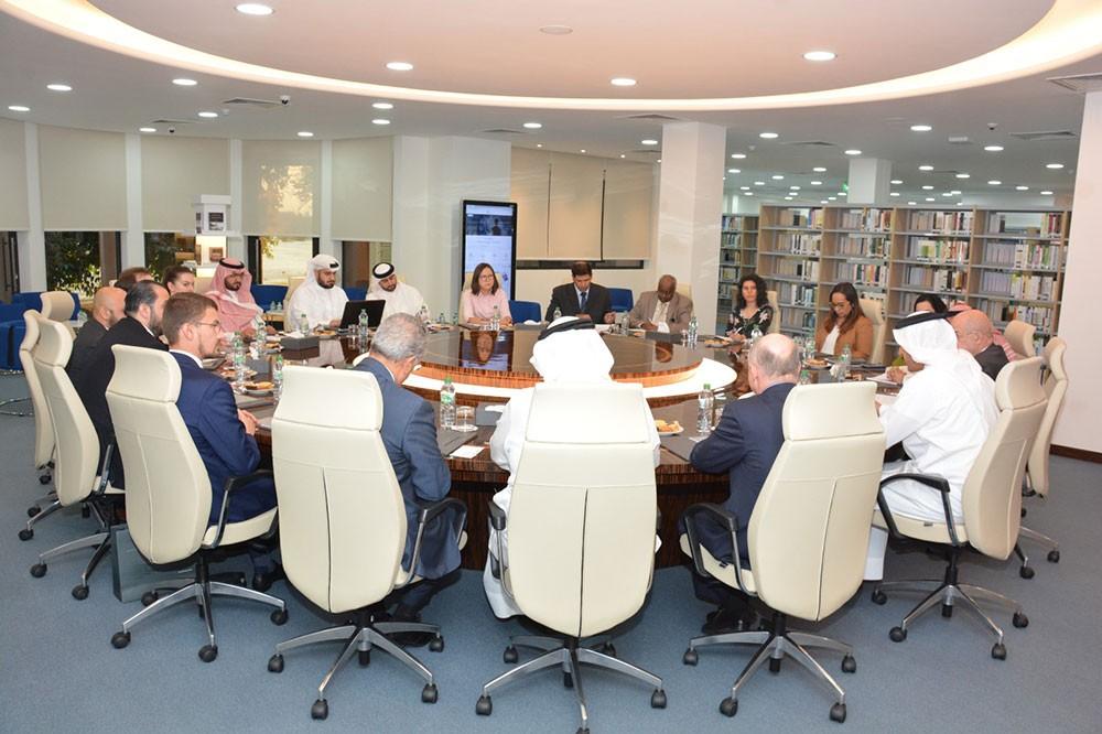 دراسات يستقبل رئيس معهد الدراسات الشرقية بالأكاديمية الروسية للعلوم