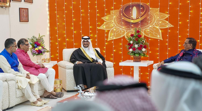 عيسى بن سلمان: البحرين تسير على نهجها بترسيخ قيم التسامح والتعددية