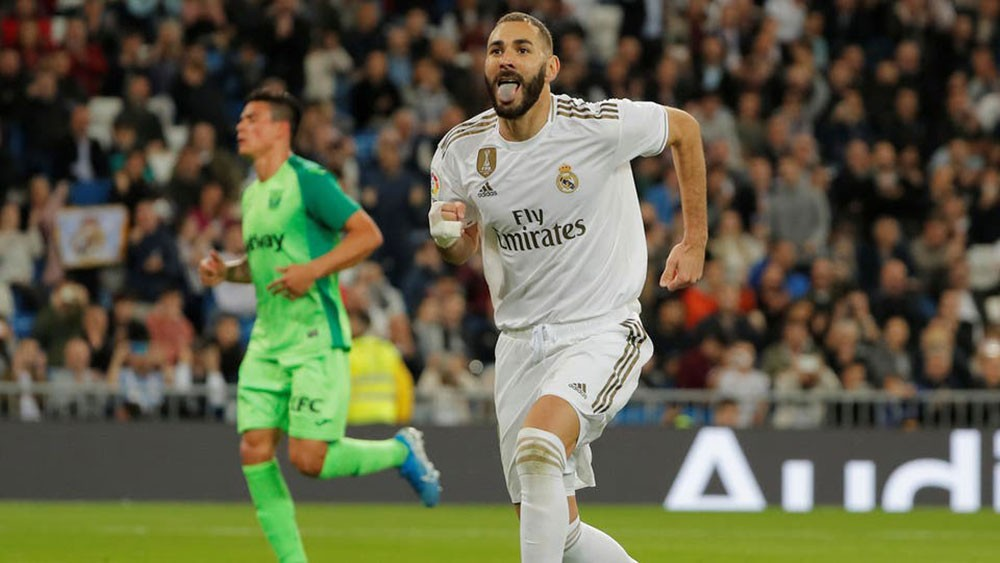 ريال مدريد يحقق فوزاً مريحاً على ليغانيس