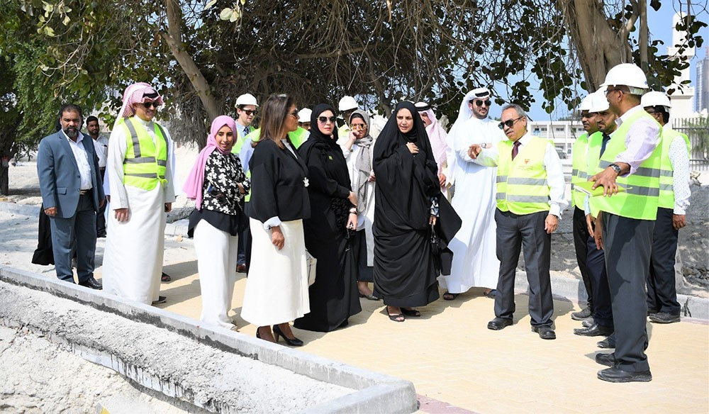 خلف : الإنتهاء من 47% من الأعمال التطويرية للحديقة المائية