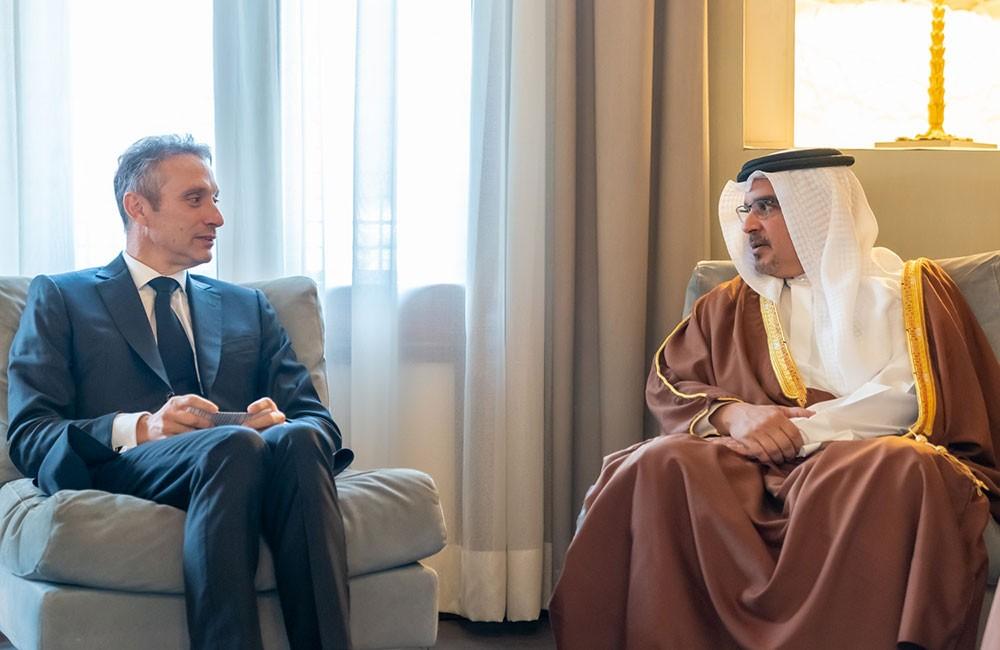 سمو ولي العهد: تنامي العلاقات الثنائية بين البحرين وفرنسا وفتح آفاق أوسع للتعاون