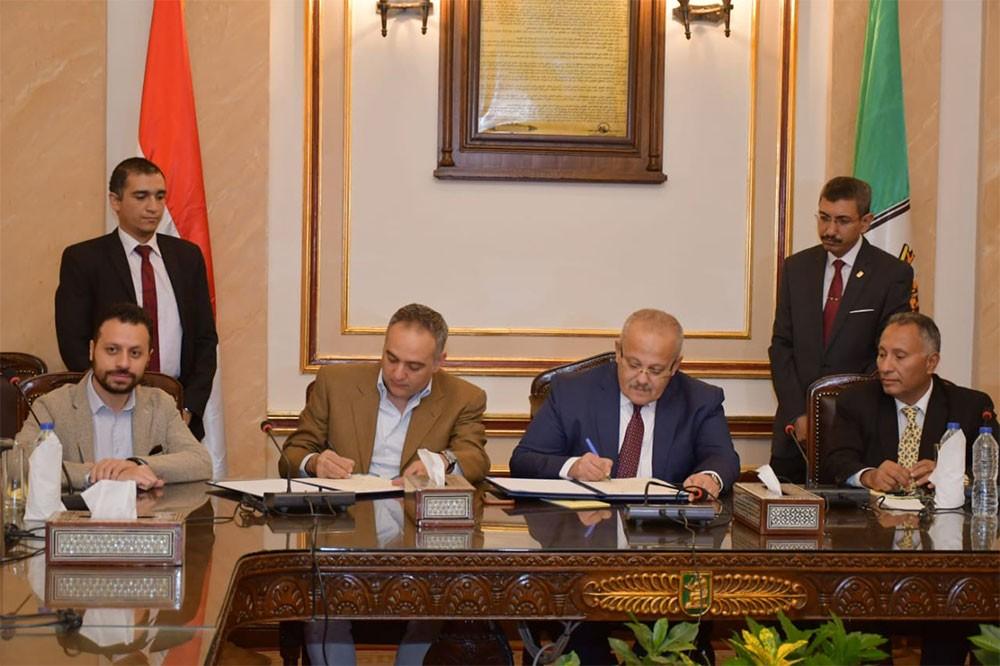 بروتوكول تعاون بين مهرجان القاهرة السينمائى الدولي وجامعة القاهرة