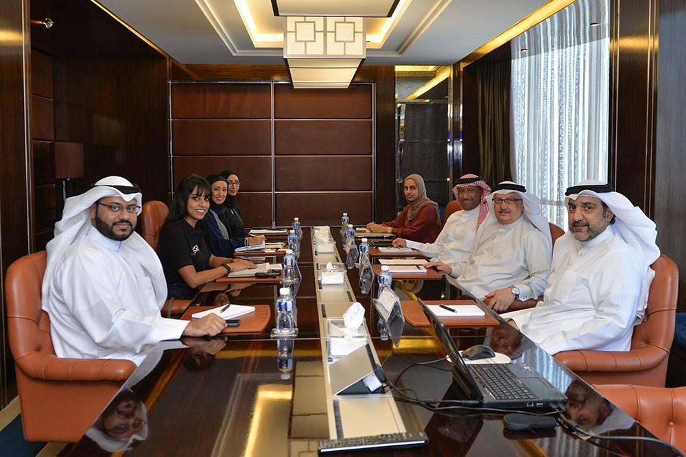 المجلس الأعلى للشباب والرياضة يجتمع مع ممثلين من وزارة شؤون الأعلام