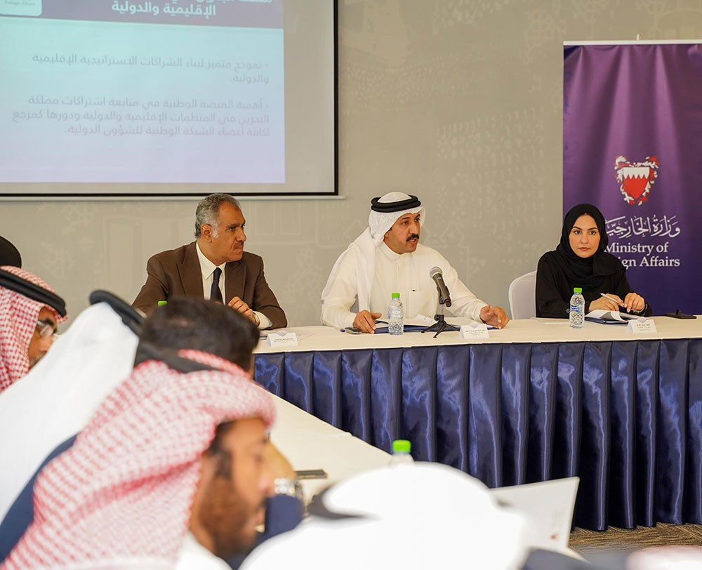 عبدالله بن أحمد يترأس اجتماع الطاولة المستديرة للشبكة الوطنية للشؤون الدولية