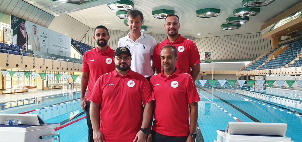 وفد اتحاد السباحة يشارك بدورة المدربين بالاتحاد السعودي للسباحة
