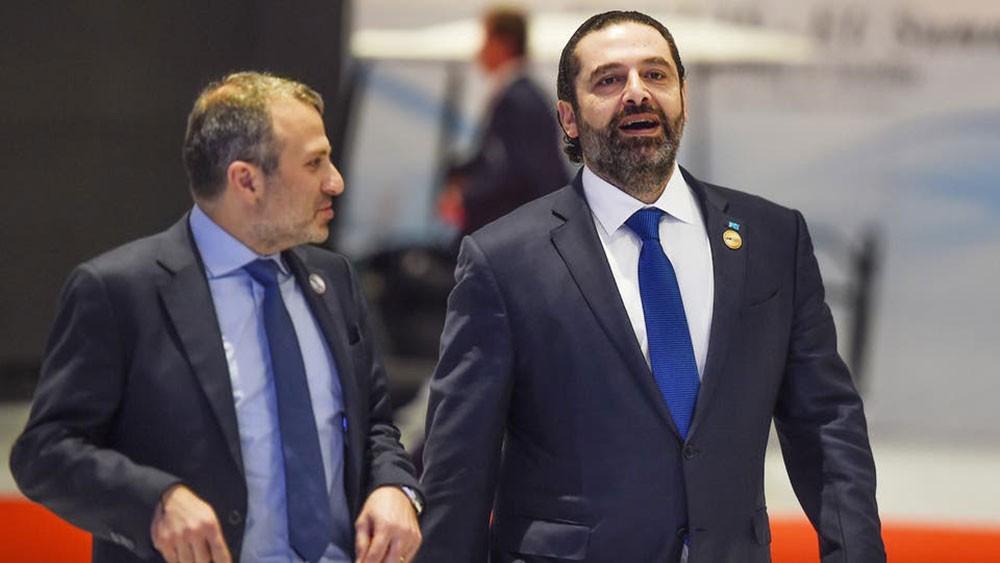 لبنان.. الحريري يلتقي باسيل وسط استمرار الاحتجاجات