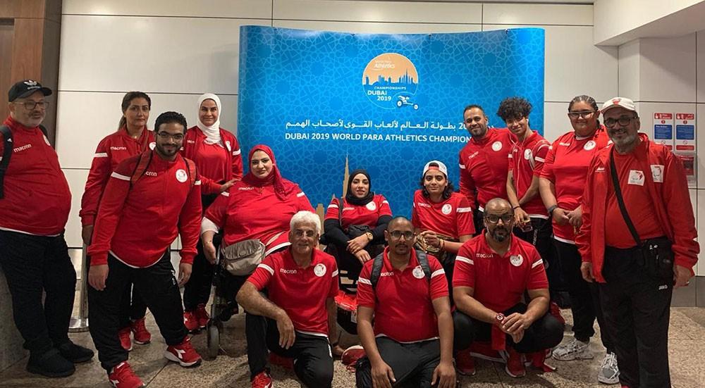 منتخب ألعاب القوى يواصل تحضيراته لبطولة العالم البارالمبية