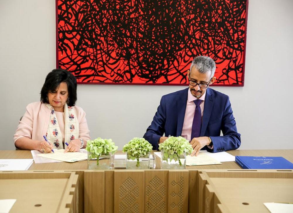توقيع مذكرة تفاهم ما بين المركز الإقليمي العربي للتراث العالمي والألكسو