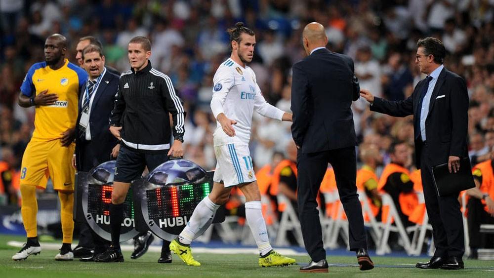 "زيدان: بيل ""ليس جاهزاً"" للعب مع ريال مدريد"