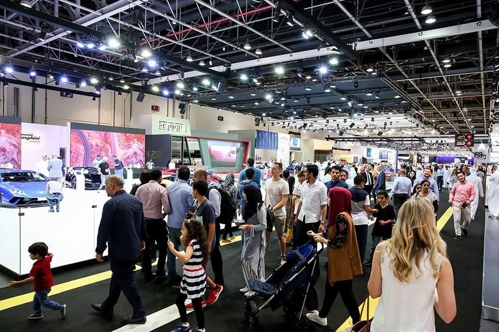 جدول حافل بالمتعة ينتظر جمهور دبي الدولي للسيارات 2019