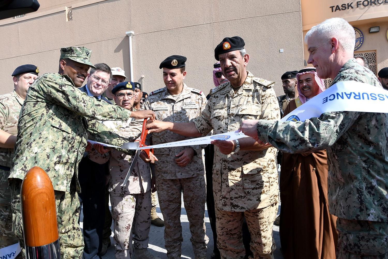 افتتاح مبنى الأمن البحري الدولي بمقر وحدة الإسناد البحري الأمريكي