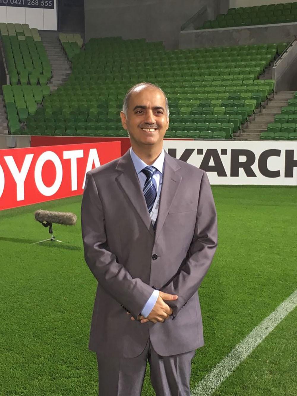جاسم محمود مقيّمًا لحكام مباراة اليمن وفلسطين