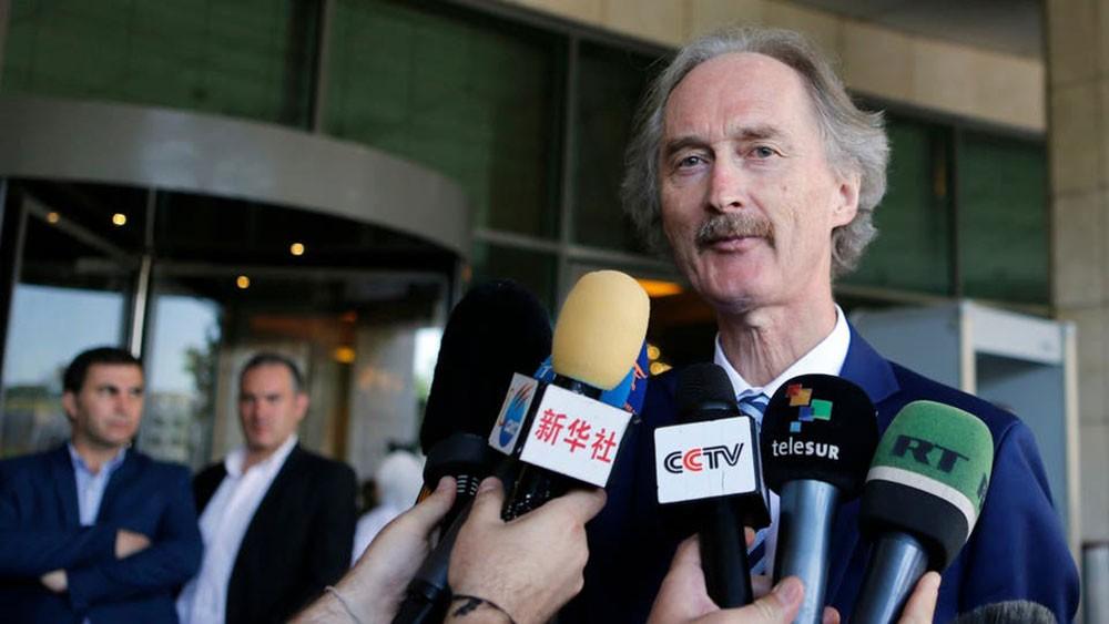بيدرسون: اللجنة الدستورية السورية تجتمع بجنيف 25 نوفمبر