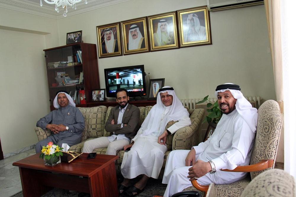 مسرح الريف يزور السفارة البحرينية في الأردن