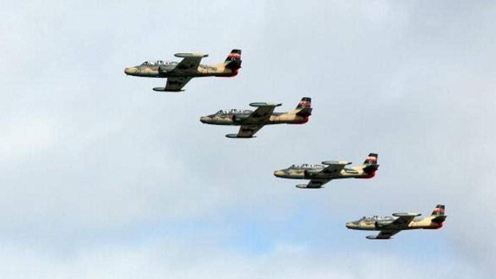 طيران الجيش الليبي يستهدف مواقع الميليشيات في منطقة سرت