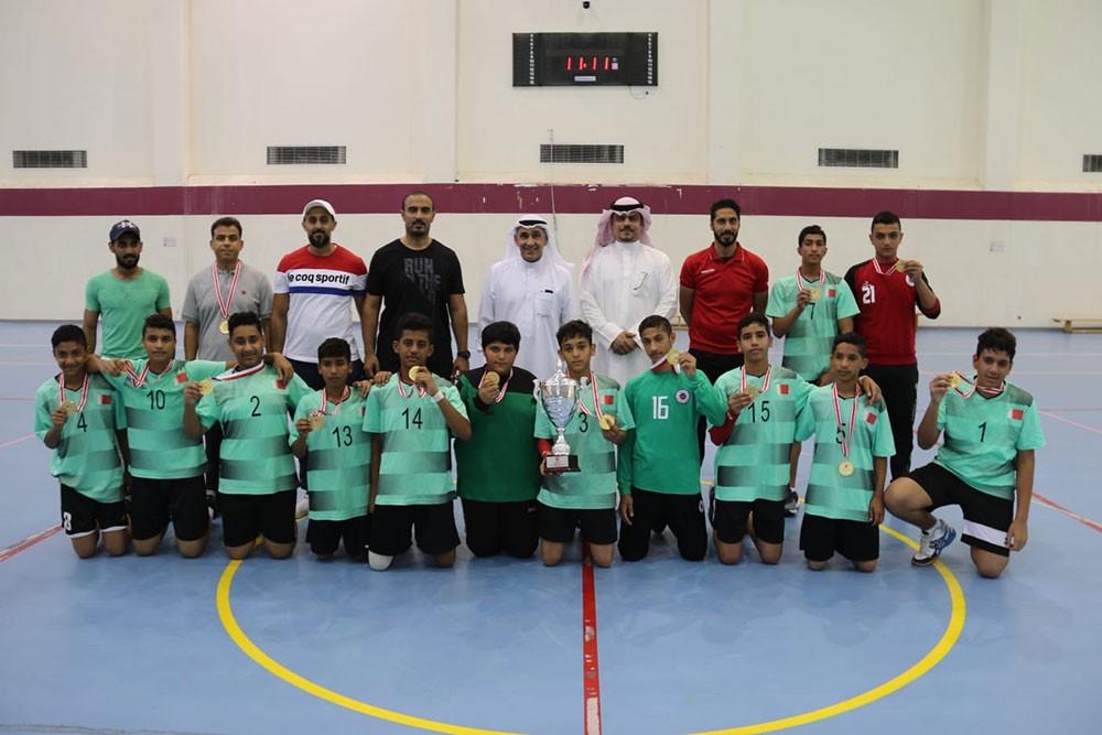 مدرسة الدراز تحتفظ بلقب بطولة كرة اليد للمدارس الإعدادية
