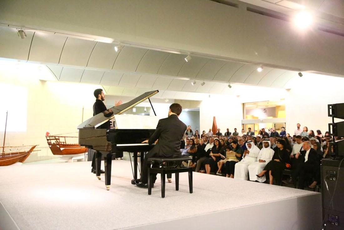 حفل تحية للأوبرا الإيطالية في متحف البحرين الوطني