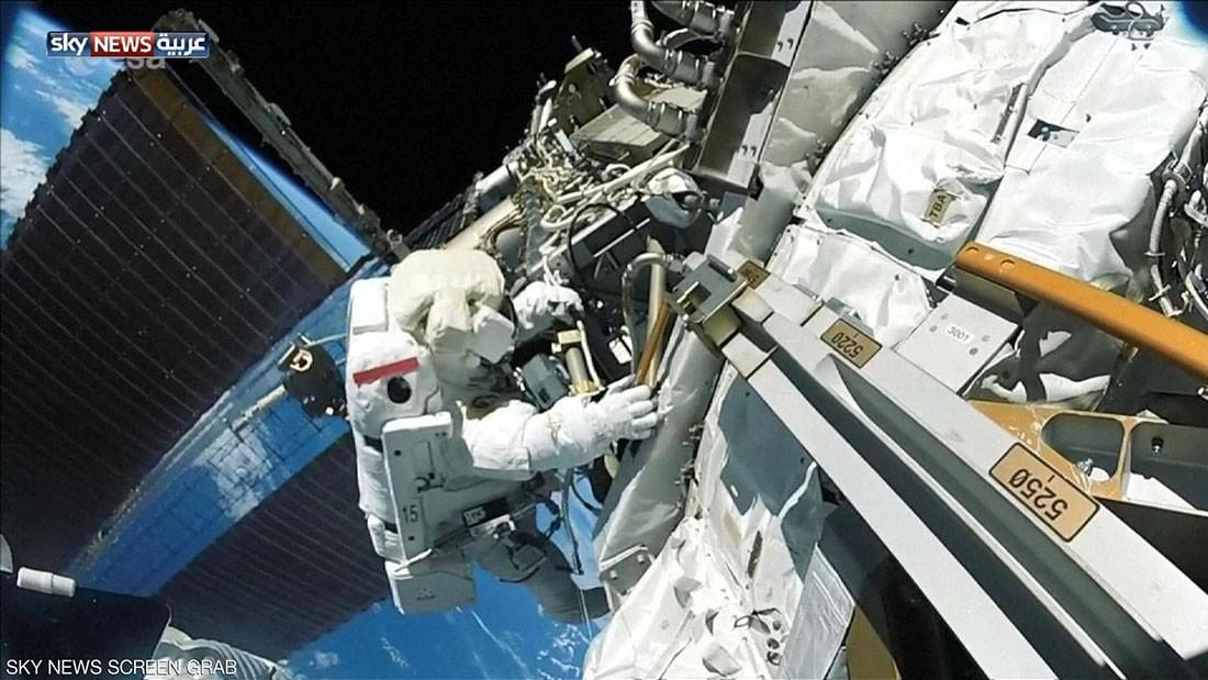 خرجا من محطة الفضاء الدولية لإنهاء مهمة بدأت قبل سنوات