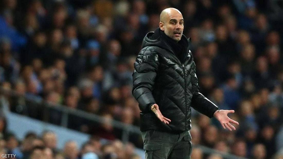 ماذا قال غوارديولا للاعبيه بعد الهزيمة أمام مانشستر يونايتد؟