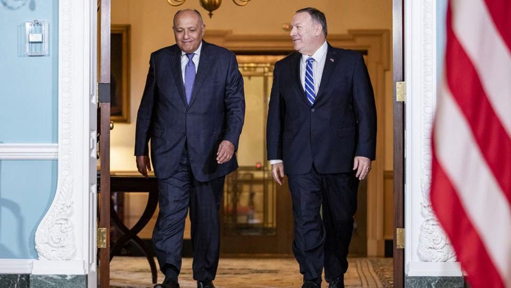 شكري: نتطلع للدور الأميركي في التوصل لاتفاق بسد النهضة