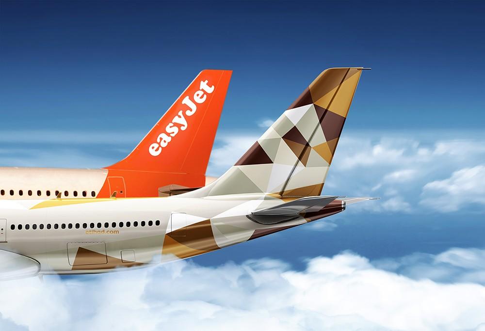 """الاتحاد للطيران في شراكة مع """"إيزي جيت"""""""
