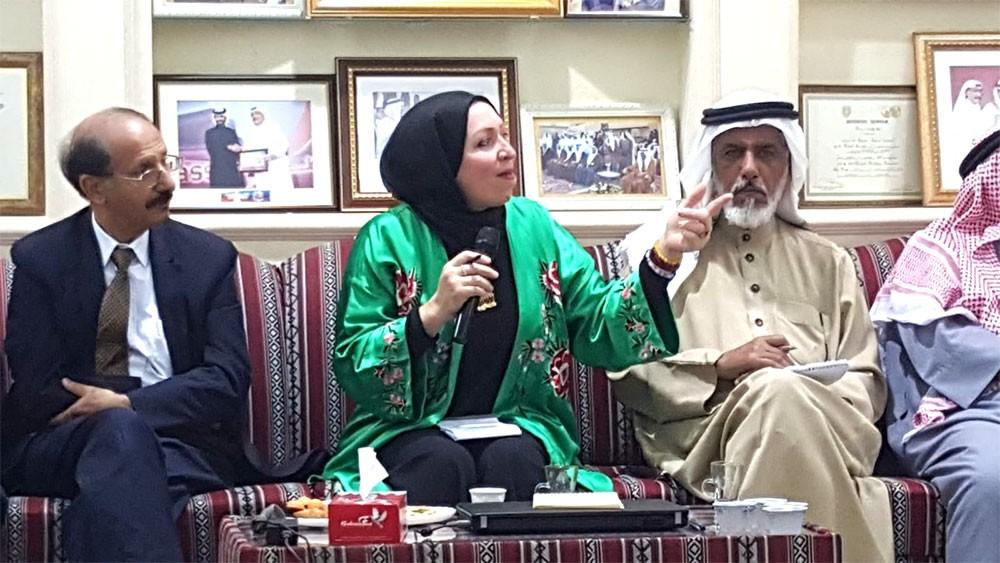 د. شرف المزعل تدعو كل أهل البحرين للعب دور إيجابي في تقوية وترسيخ المواطنة