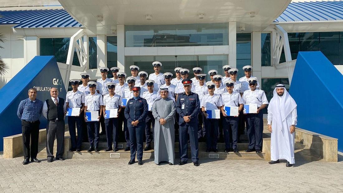 """""""أمن المنافذ"""" : دورة تدريبية حول أساسيات أمن الطيران بالتعاون مع أكاديمية الخليج للطيران"""