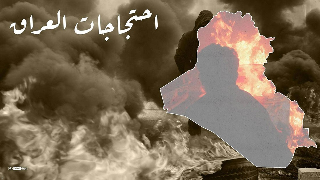 إنفوغرافيك: خريطة الاحتجاجات في العراق.. كيف بدأت؟ وأين وصلت؟