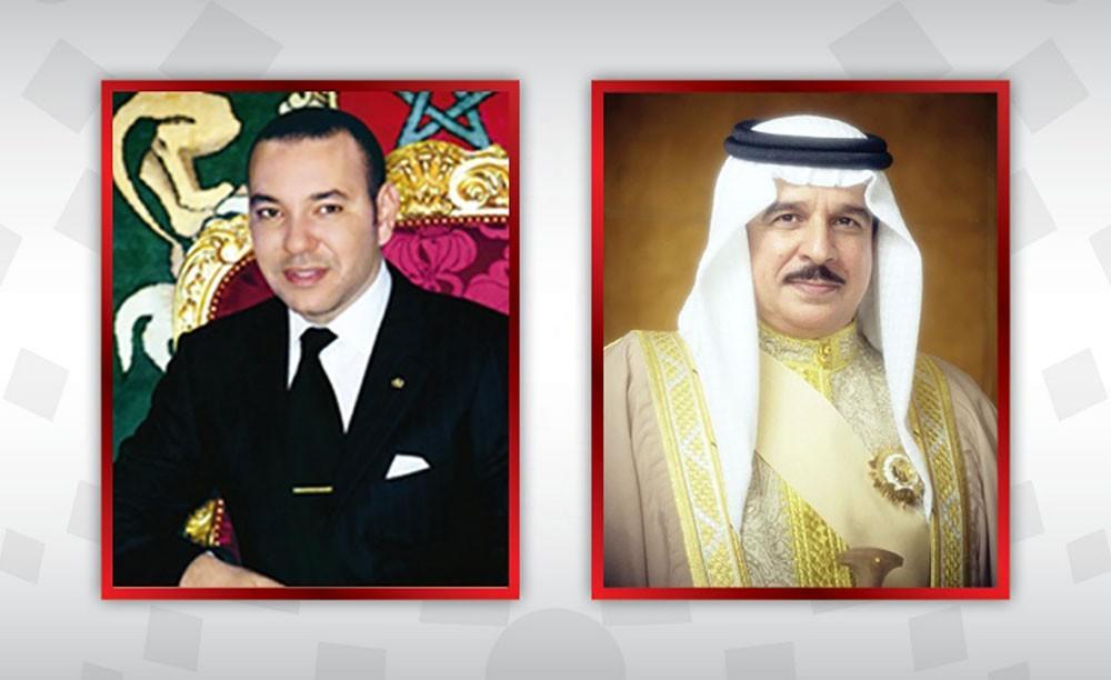 جلالة الملك المفدى يصل إلى المملكة المغربية في زياره خاصة