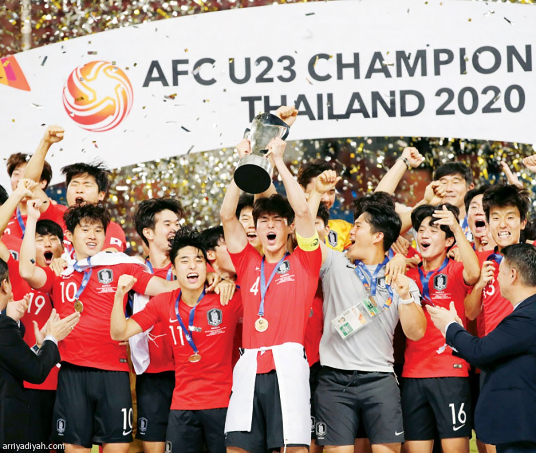 أحصاءات وأرقام من كأس آسيا تحت 23