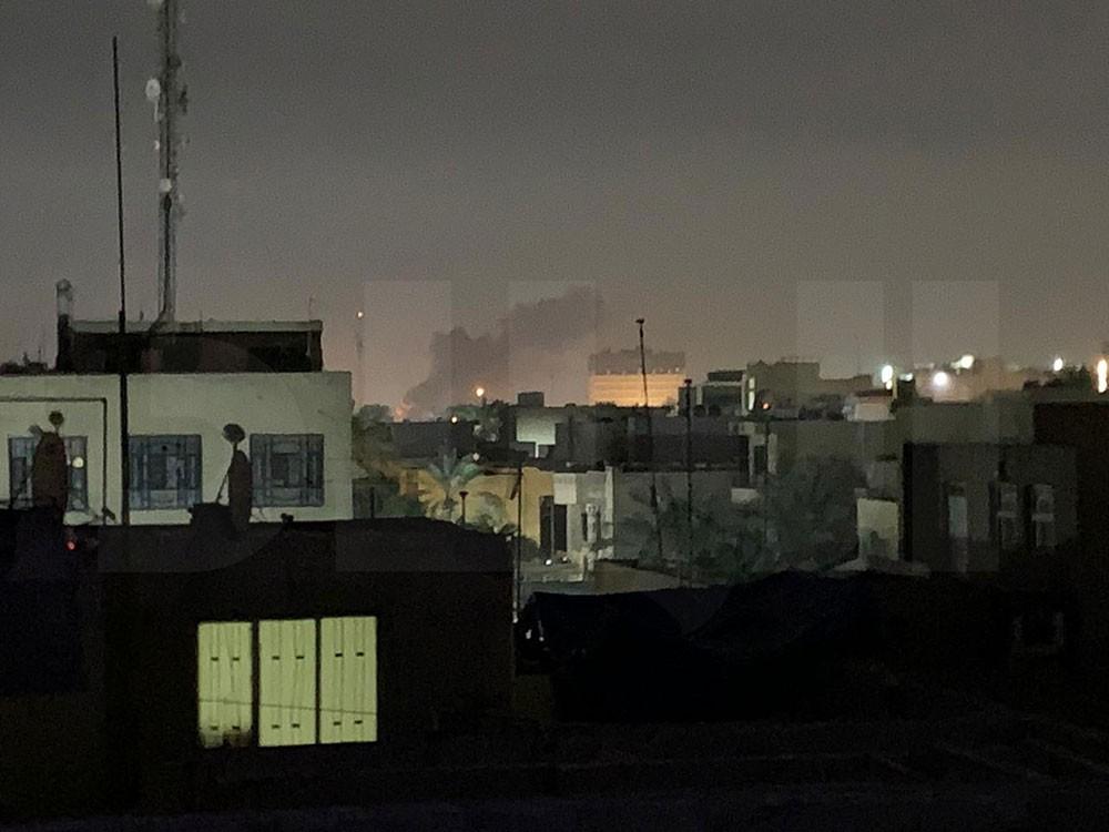 سلسلة إنفجارات تهز العاصمة العراقية بغداد