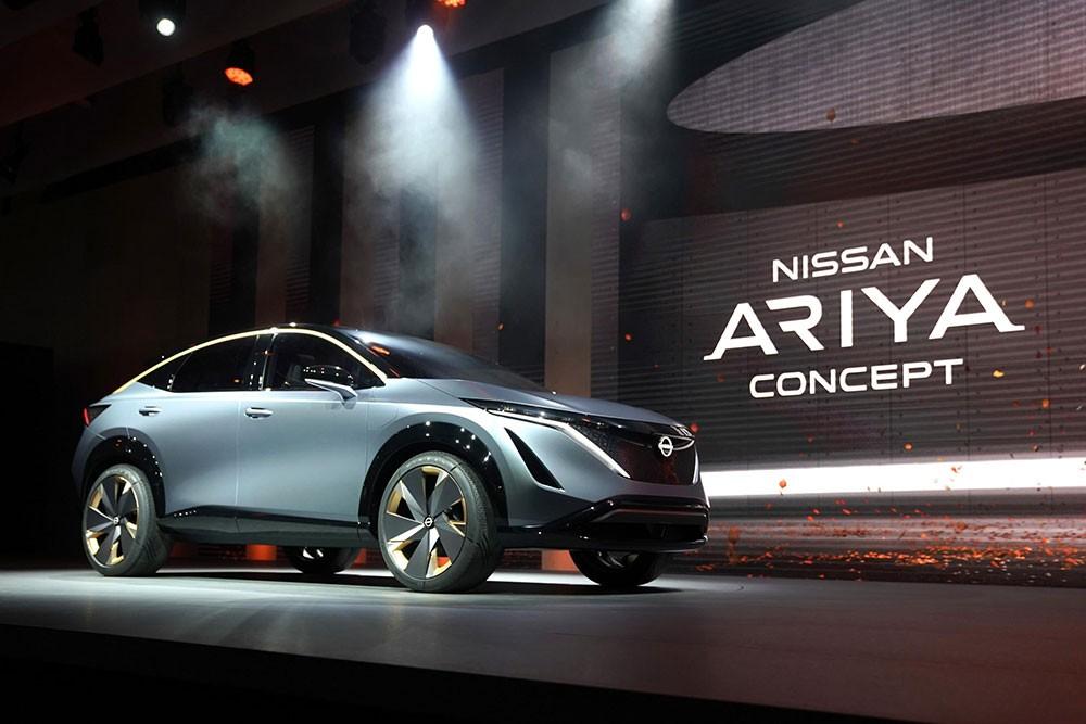 Nissan Ariya اليابانية رباعية الدفع