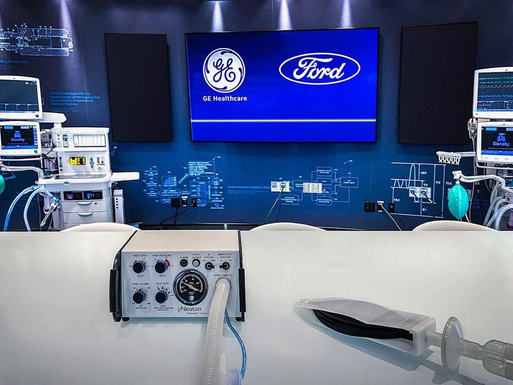 فورد تنتج 50 ألف جهاز تنفس اصطناعي لمساعدة المصابين بفيروس كورونا