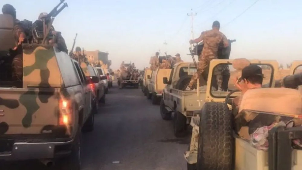"""""""أسود الجزيرة"""" تنطلق.. وتلاحق داعش بالعراق وصولاً لسوريا"""