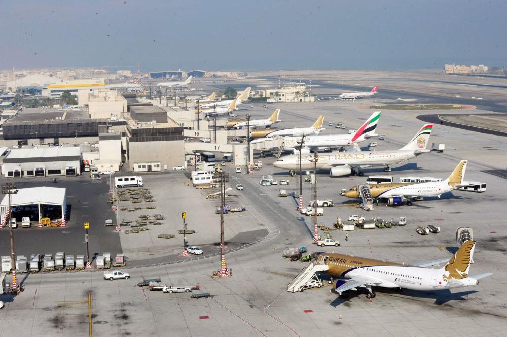 شركات تستأنف رحلاتها من مطار البحرين بعد العيد