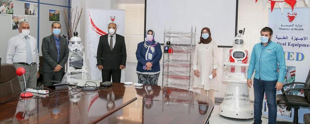 بالفيديو: البحرين تبدأ في استخدام الروبوتات الطبية الجديدة بمراكز العزل والعلاج