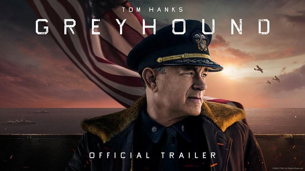فيلم Greyhound فقط على آبل تي في