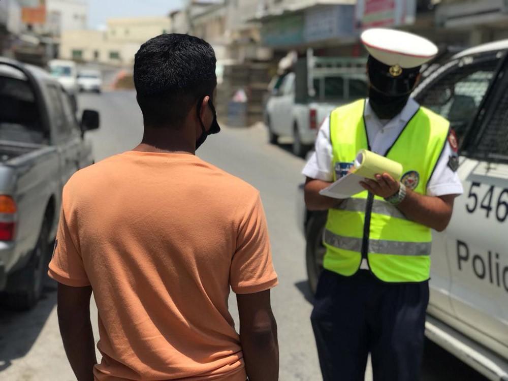 """شرطة الشمالية : تسجيل 154 مخالفة """"كمامة الوجه"""" خلال إجازة العيد"""