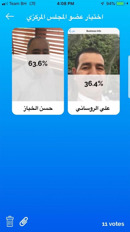 التصويت الالكتروني