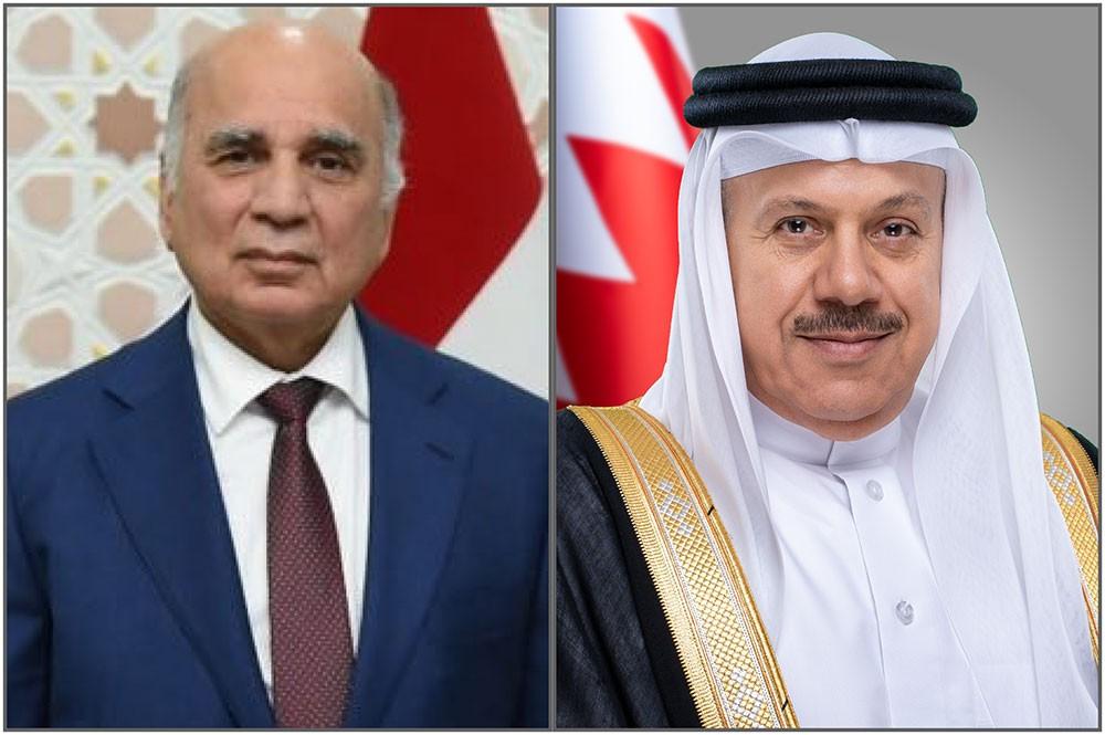 وزير الخارجية يجري اتصالًا هاتفيًا بوزير خارجية جمهورية العراق