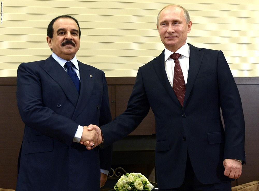 جلالة الملك يستعرض مع الرئيس الروسي العلاقات الثنائية التاريخية