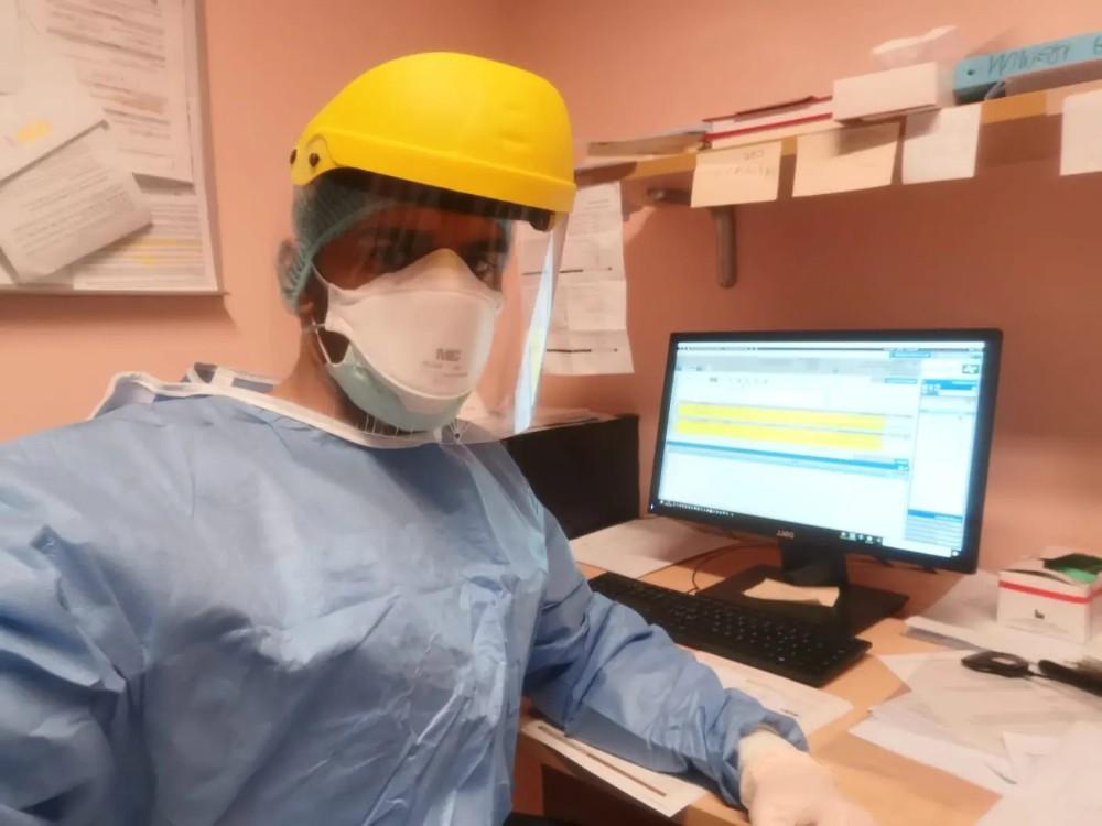 Nasser al-Abdulali, the Saudi Arabian doctor who stayed in Italy to help doctors battle coronavirus. (Supplied)