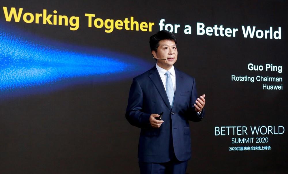 Guo Ping, Huawei Rotating Chairman.