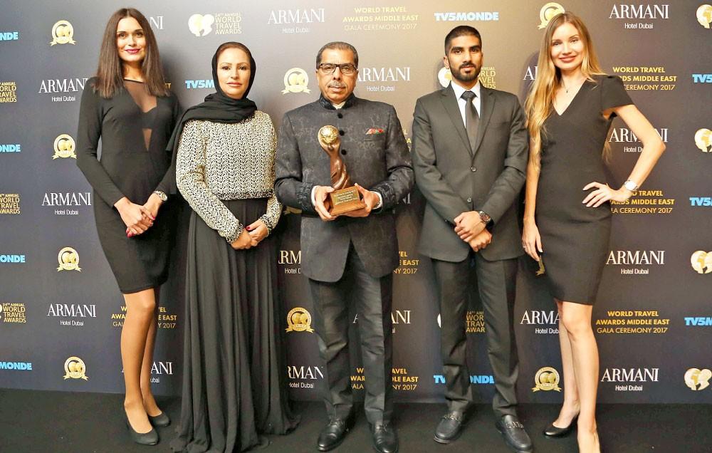 """""""داداباي"""" تفوز بالجائزة العالمية للسفر 2017"""