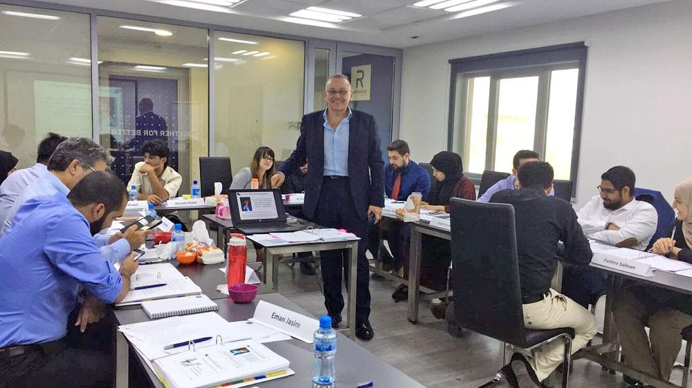 موظفو رينرز الشرق الأوسط يشاركون في دورة تدريبية