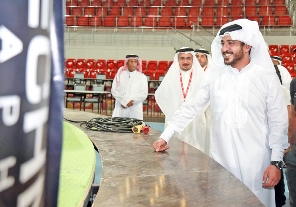 خالد بن حمد: البطولة محطة لانطلاقة واسعة في المنطقة