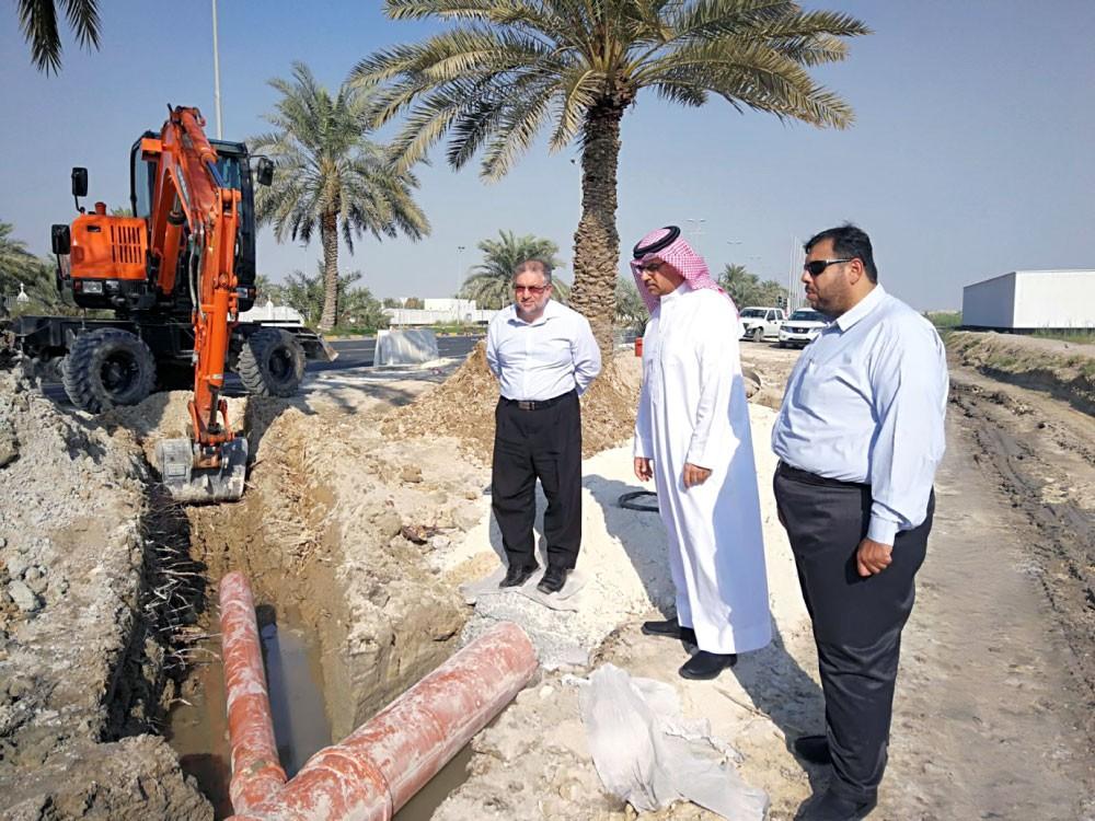 الخياط: معالجة 47 نقطة لتجمع مياه الأمطار